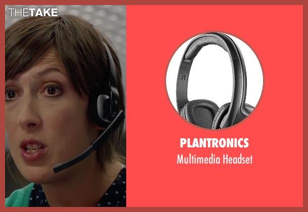 Plantronics headset from Spy seen with Miranda Hart (Nancy)