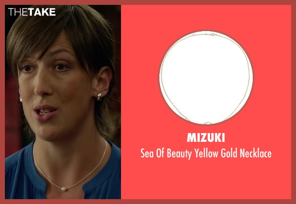 Mizuki white necklace from Spy seen with Miranda Hart (Nancy)