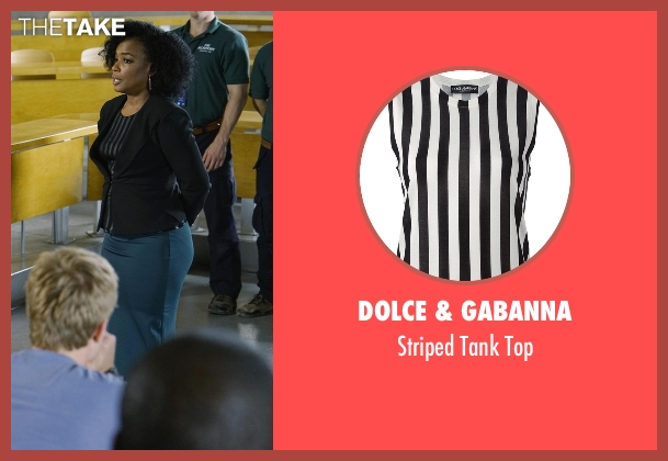 Dolce & Gabanna black top from Quantico seen with Miranda Shaw (Aunjanue Ellis)