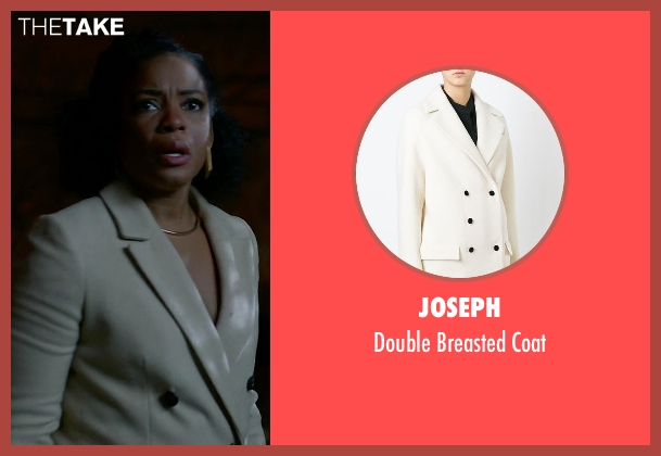 Joseph white coat from Quantico seen with Miranda Shaw (Aunjanue Ellis)