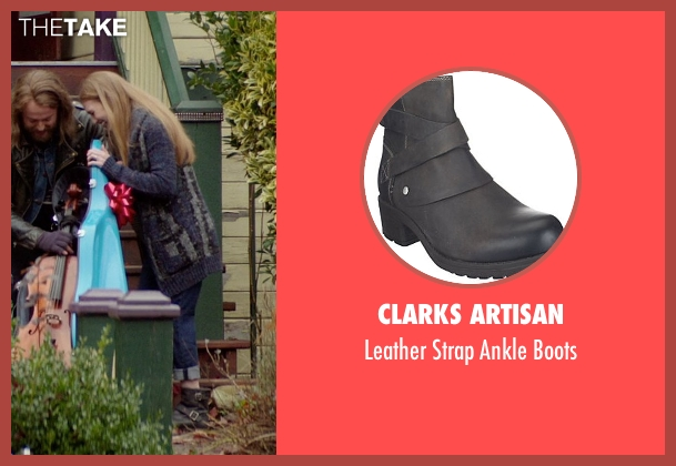 Clarks Artisan black boots from If I Stay seen with Mireille Enos (Kat Hall)