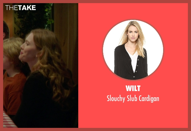 Wilt black cardigan from If I Stay seen with Mireille Enos (Kat Hall)