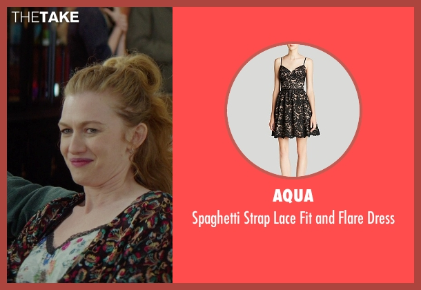 Aqua black dress from If I Stay seen with Mireille Enos (Kat Hall)