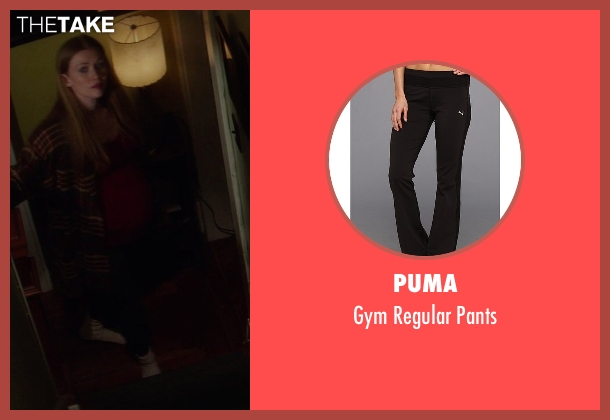 Puma black pants from If I Stay seen with Mireille Enos (Kat Hall)