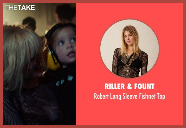 Riller & Fount black top from If I Stay seen with Mireille Enos (Kat Hall)