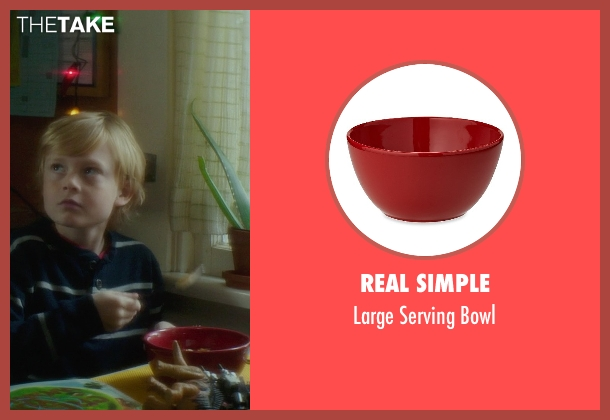 Real Simple bowl from If I Stay seen with Mireille Enos (Kat Hall)