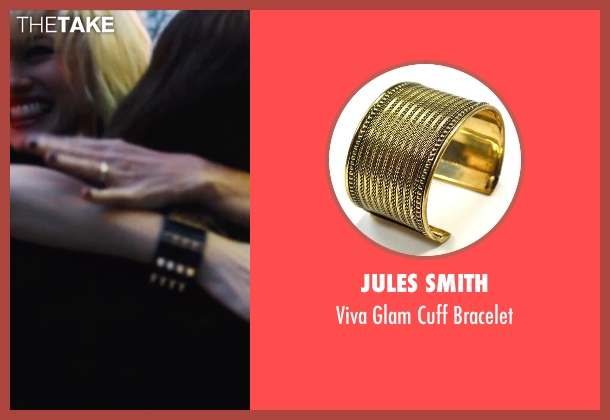 Jules Smith gold bracelet from If I Stay seen with Mireille Enos (Kat Hall)