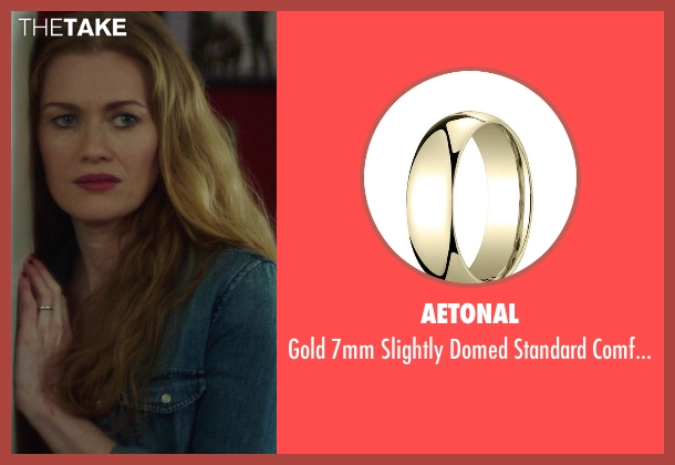 Aetonal gold ring from If I Stay seen with Mireille Enos (Kat Hall)