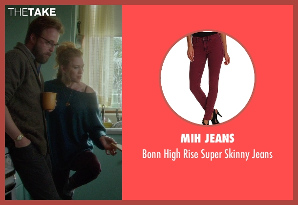 MiH Jeans red jeans from If I Stay seen with Mireille Enos (Kat Hall)