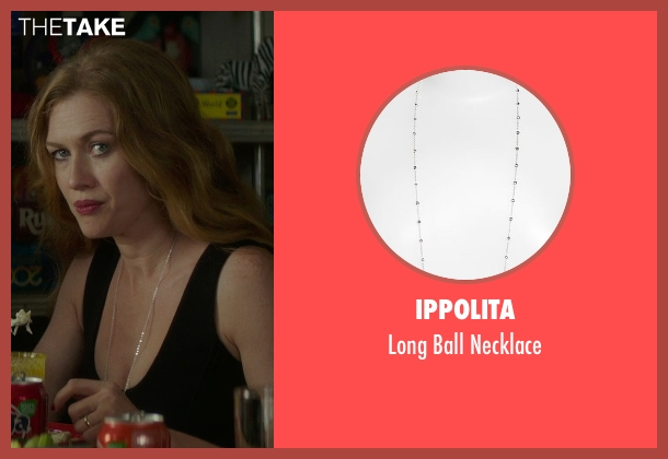 Ippolita silver necklace from If I Stay seen with Mireille Enos (Kat Hall)