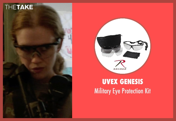 UVEX Genesis kit from Sabotage seen with Mireille Enos (Lizzy Murray)