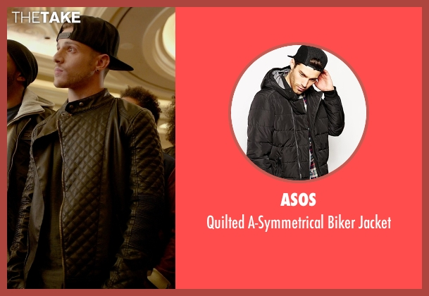 Misha gabriel hamilton asos quilted a symmetrical biker jacket asos black jacket from step up all in seen with misha gabriel hamilton eddy urmus Choice Image