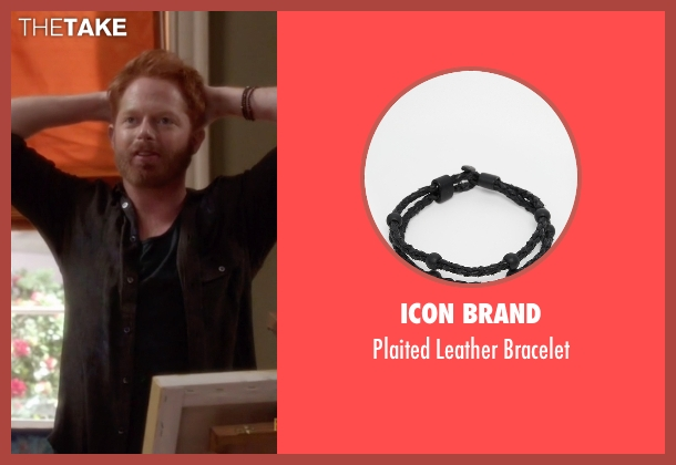 Icon Brand black bracelet from Modern Family seen with Mitchell Pritchett (Jesse Tyler Ferguson)