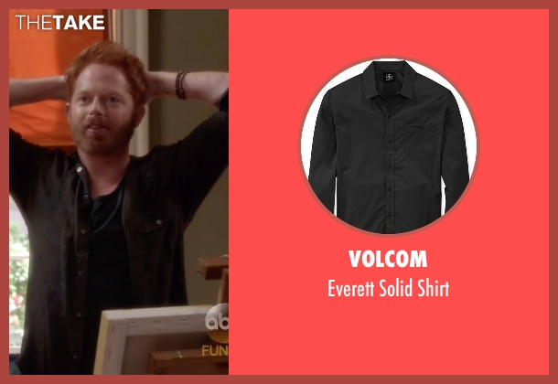 Volcom black shirt from Modern Family seen with Mitchell Pritchett (Jesse Tyler Ferguson)
