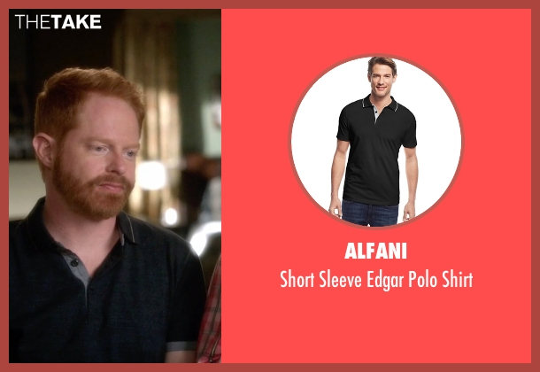 Alfani black shirt from Modern Family seen with Mitchell Pritchett (Jesse Tyler Ferguson)