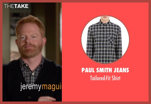 Paul Smith Jeans black shirt from Modern Family seen with Mitchell Pritchett (Jesse Tyler Ferguson)