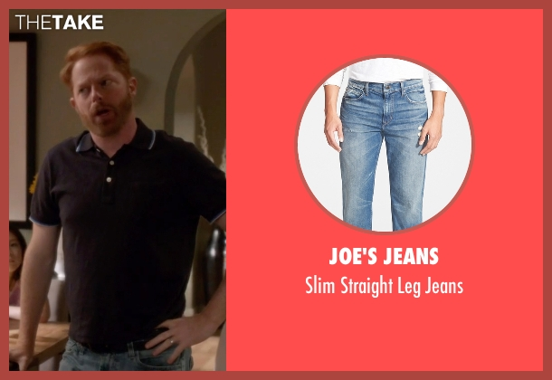 Joe's Jeans blue jeans from Modern Family seen with Mitchell Pritchett (Jesse Tyler Ferguson)
