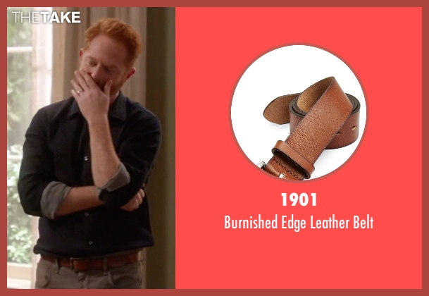 1901 brown belt from Modern Family seen with Mitchell Pritchett (Jesse Tyler Ferguson)