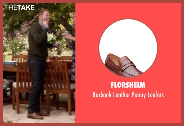 Florsheim brown loafers from Modern Family seen with Mitchell Pritchett (Jesse Tyler Ferguson)