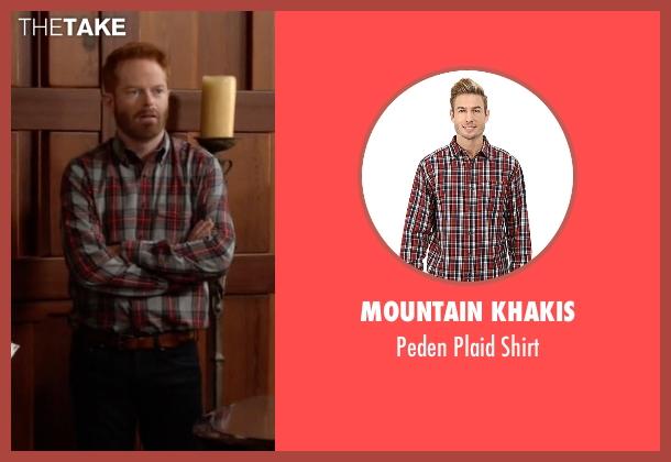 Mountain Khakis red shirt from Modern Family seen with Mitchell Pritchett (Jesse Tyler Ferguson)