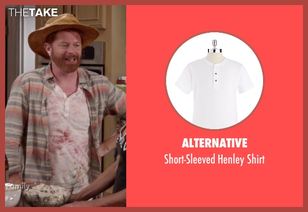 Alternative white shirt from Modern Family seen with Mitchell Pritchett (Jesse Tyler Ferguson)