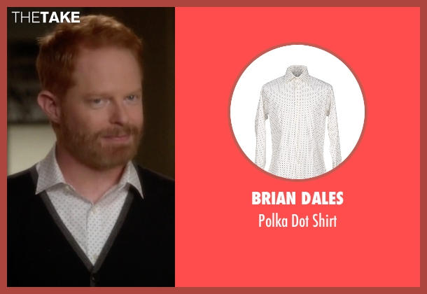 Brian Dales white shirt from Modern Family seen with Mitchell Pritchett (Jesse Tyler Ferguson)