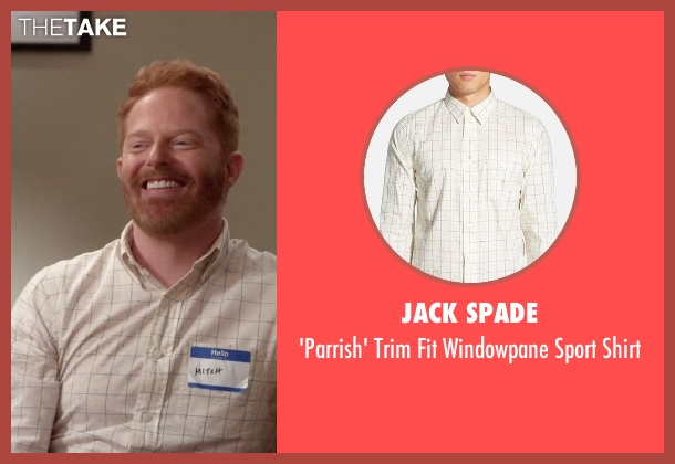 Jack Spade white shirt from Modern Family seen with Mitchell Pritchett (Jesse Tyler Ferguson)