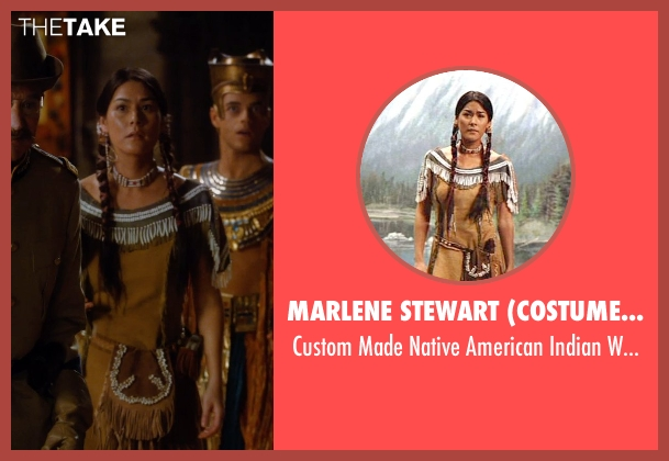 Marlene Stewart (Costume Designer) costume from Night at the Museum: Secret of the Tomb seen with Mizuo Peck (Sacagawea)