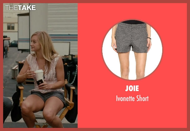 Joie gray short from No Strings Attached seen with Mollee Gray (Sari)
