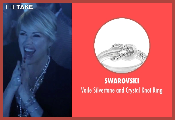 Swarovski silver ring from Jem and the Holograms seen with Molly Ringwald (Mrs. Bailey)