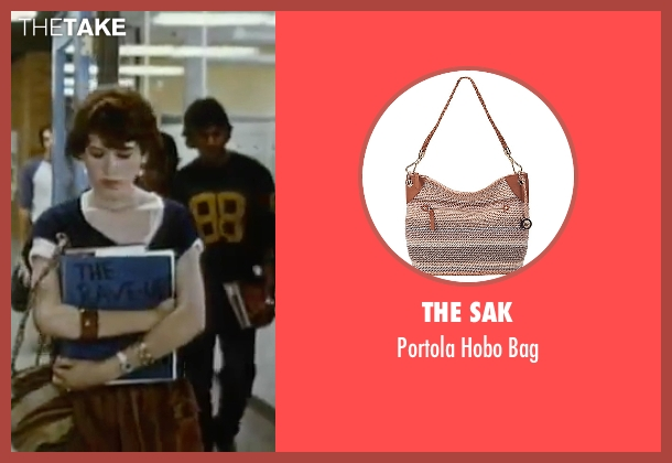 The Sak brown bag from Sixteen Candles seen with Molly Ringwald (Samantha Baker)