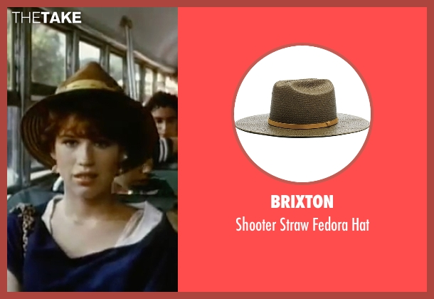 Brixton brown hat from Sixteen Candles seen with Molly Ringwald (Samantha Baker)