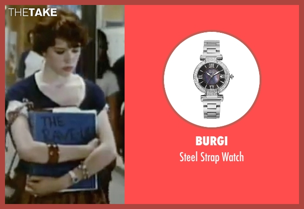 Burgi silver watch from Sixteen Candles seen with Molly Ringwald (Samantha Baker)
