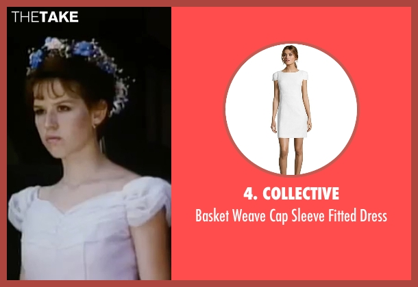 4. Collective white dress from Sixteen Candles seen with Molly Ringwald (Samantha Baker)