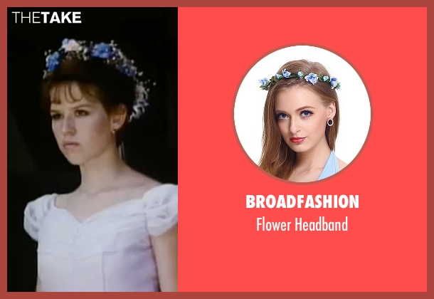 Broadfashion white headband from Sixteen Candles seen with Molly Ringwald (Samantha Baker)