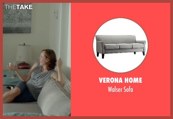 Verona Home sofa from Me and Earl and the Dying Girl seen with Molly Shannon (Denise Kushner)