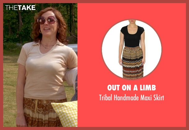 Out on a Limb brown skirt from Wet Hot American Summer seen with Molly Shannon (Gail von Kleinenstein)