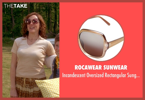 Rocawear Sunwear brown sunglasses from Wet Hot American Summer seen with Molly Shannon (Gail von Kleinenstein)