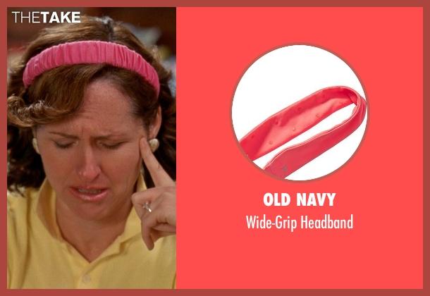 Old Navy pink headband from Wet Hot American Summer seen with Molly Shannon (Gail von Kleinenstein)
