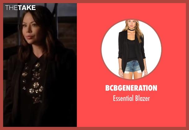 BCBGeneration black blazer from Pretty Little Liars seen with Mona Vanderwaal  (Janel Parrish)