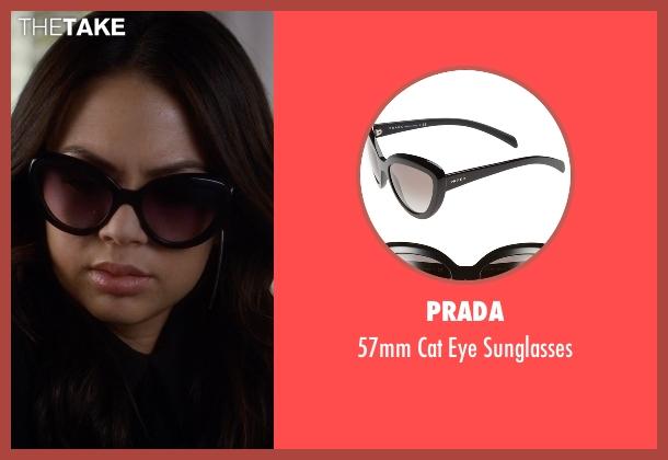 Prada black sunglasses from Pretty Little Liars seen with Mona Vanderwaal  (Janel Parrish)