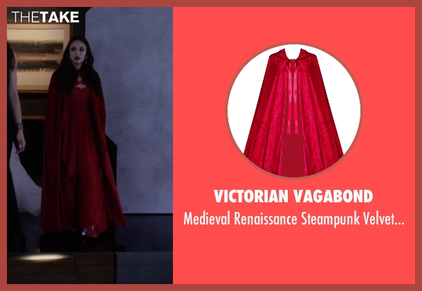 Victorian Vagabond cloak from Pretty Little Liars seen with Mona Vanderwaal  (Janel Parrish)