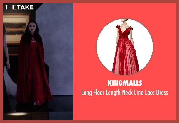 Kingmalls red dress from Pretty Little Liars seen with Mona Vanderwaal  (Janel Parrish)