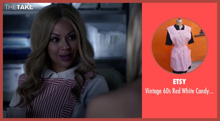 Etsy red uniform from Pretty Little Liars seen with Mona Vanderwaal  (Janel Parrish)