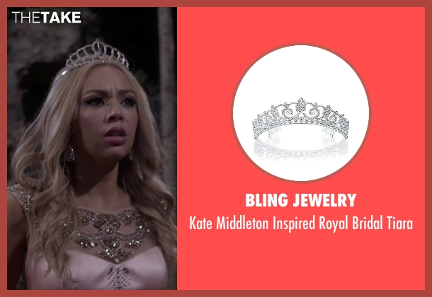 Bling Jewelry tiara from Pretty Little Liars seen with Mona Vanderwaal  (Janel Parrish)