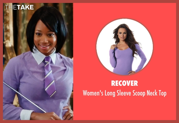 Recover purple top from High School Musical 3: Senior Year seen with Monique Coleman (Taylor McKessie)