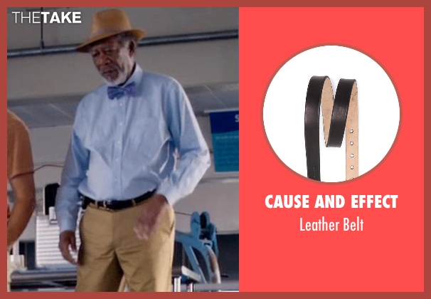 Cause and Effect black belt from Dolphin Tale 2 seen with Morgan Freeman (Dr. Cameron McCarthy)