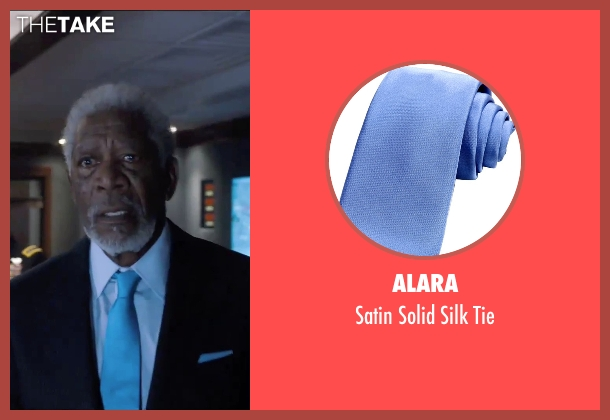 Alara blue tie from London Has Fallen seen with Morgan Freeman (Speaker Trumbull)