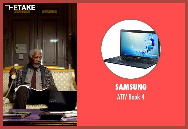 Samsung 4 from Lucy seen with Morgan Freeman (Professor Norman)