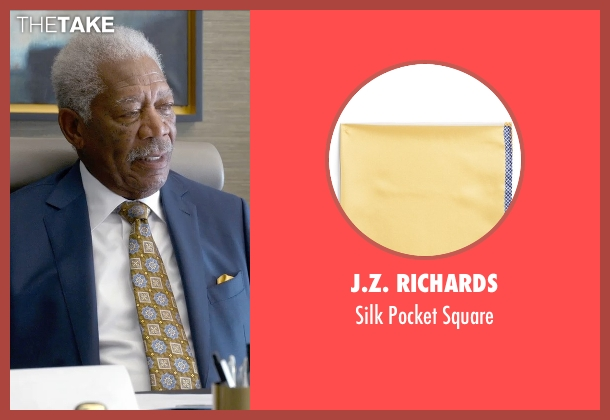 J.Z. Richards yellow square from Ted 2 seen with Morgan Freeman (Patrick Meighan)